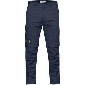 Fjällräven Karl Pro Pantalones Zip-Off Hombre, azul